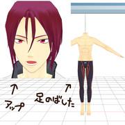 【Free!MMD】凛モデルテスト