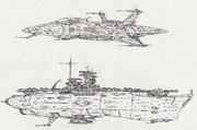 空間汎用艦上偵察機サイウン&宇宙航空母艦ズイカク「自作機・艦」