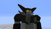 『minecraft』ゲッターロボが日焼けして帰ってきた