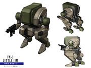 MMD用FN-3 リトルジム・ヴァンツァーセット