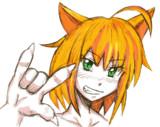 ネコマタの「キラッ☆」
