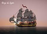 【Minecraft】帆船 Coup du lapin