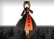 黒狐亭の田舎娘