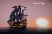 【minecraft】帆船 Coup du lapin その2