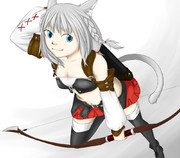 ミコッテ(弓術士)