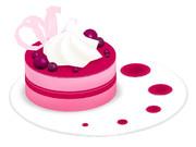 イチゴムースのケーキ_ver1.1