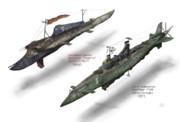 帝国&連邦駆逐艦