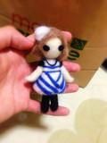【羊毛フェルト】踊り手・あきゃり【7】