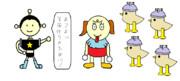 キャラクター似顔絵っぽいもの+@