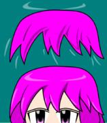 前髪の詳細