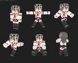 【Minecraft】 艦隊これくしょん 榛名スキン