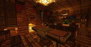 【Minecraft】暖炉のある家