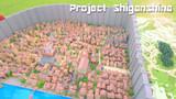 【Minecraft】進撃の巨人 シガンシナ区再現プロジェクト 壁紙1