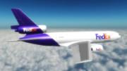 物流グループの飛行部隊 ~FDX MD-10 リペイント~