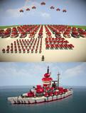 【Minecraft】現在のキノコ軍備【秋の味覚大戦】