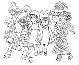7人の魔女というのを見てないけど想像で描いてみた