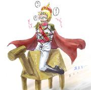 キャー!白馬に乗った王子様が来たわ!!