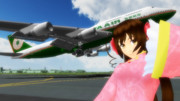 長榮(EVA)で台湾行こ~ヨ~! ~EVA B747-400 リペイント~