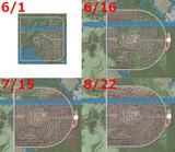 【Minecraft】進撃の巨人 シガンシナ区再現プロジェクト 建築履歴8/22