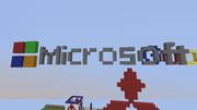 【Minecraft】 Microsoft ロゴ