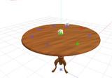 テーブル配置用ダミーボーンをつくってみた。