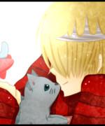 ベルと子猫