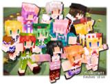 【Minecraft】自作スキン4【東方】