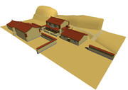 MMD建物・酒場、制作状況5