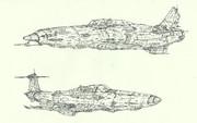 空間戦闘機フォルゴーレⅥ&空間艦上戦闘機BV155メッサー「自作機」