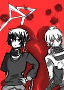 【黒コノハ】友達と描いてみた【コノハ】