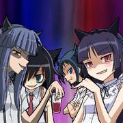 ワイルドな猫さんたち