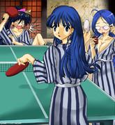 【FFLの青伊姉妹】卓球一致!