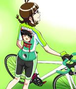 りっちゃんのサイクリング2