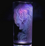 【ベルセルク】ガラス彫り・グリフィス【グラスリッツェン】