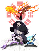Mバシャーモとポケモン獣闘士