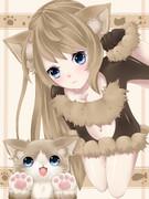 猫ちゃん擬人化(。・ω・。)