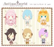 【オリキャラ】Antique†world ラバーストラップ風