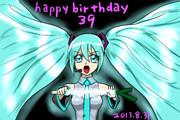 Happy birthday 39!