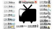 ニコニコ動画:ロゴ歴史一覧壁紙