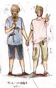 【腐向け】 夏 と ひまわり と ろべ 【APH】