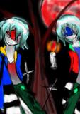 アカヤルとアオヤル