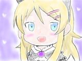 桐乃を描いてみた