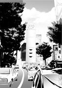 背景練習 渋谷109