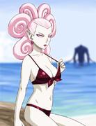 水着のレギーネさん