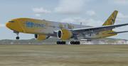 FSX 鏡音リンレンジェット B777-200ER