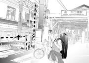 背景練習 矢口渡駅