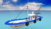 【MMD】漁船っぽいやつ作ったよ【配布】