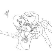 百合子と妹達 笑う吸血鬼トレス