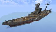 近代改装終了! 航空戦艦『震洋』