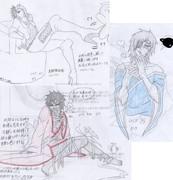 落書き13★(戦国BASARA_政宗、吉継、左近)